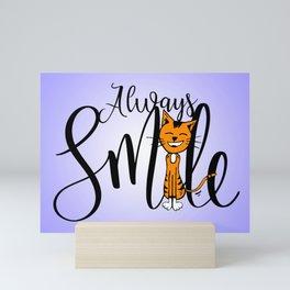 Always Smile Mini Art Print
