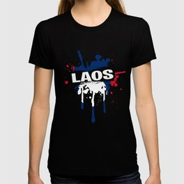 Nice Laos T Shirt Men T-shirt