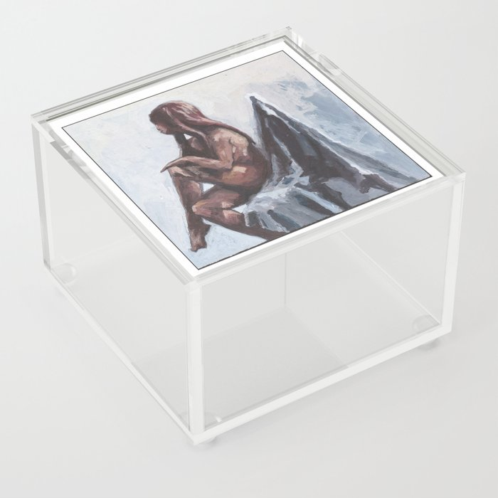 Sitting I Acrylic Box
