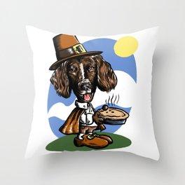 Thanksgiving Snoopy x Daisy Throw Pillow