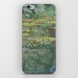 Water Lily Pond Claude Monet iPhone Skin