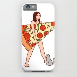 Play The Pizza iPhone Case