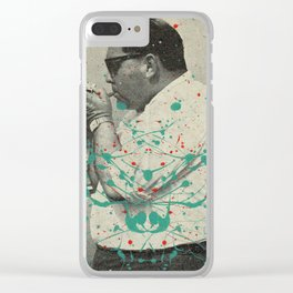 Golden Times Clear iPhone Case