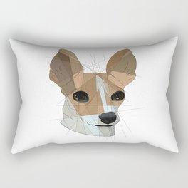 Chihuahua Pup Rectangular Pillow