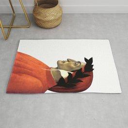 "Sandro Botticelli ""Dante Alighieri"" Rug"