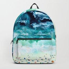 Aerial Beach Backpack