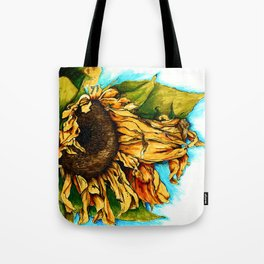 Sunflower in Summer Tote Bag
