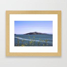 Wild Flower Bay Framed Art Print