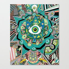 In between moments Canvas Print