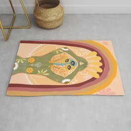 Discovering my self-worth Rug