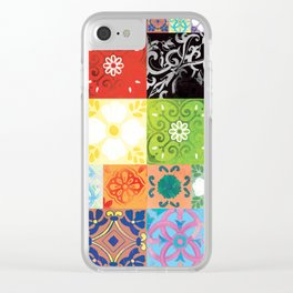Tile Amor Clear iPhone Case