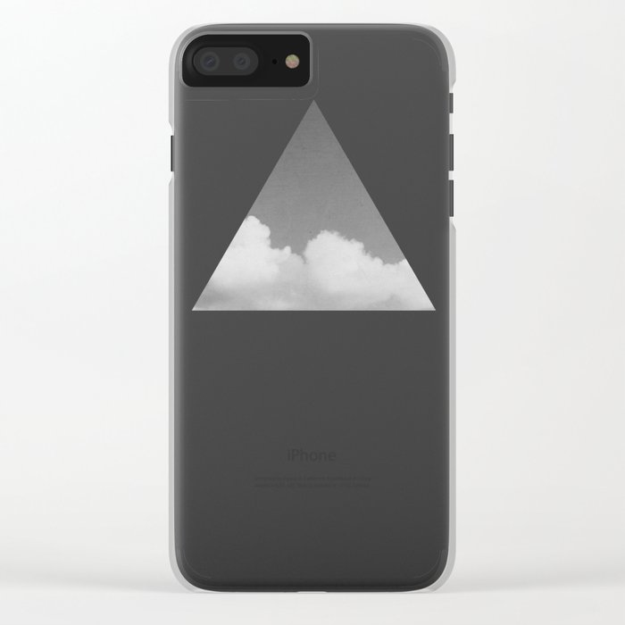 Changing Skies II Clear iPhone Case