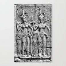 Cambodian Fertility Goddesses Canvas Print