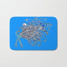 Peacock Art Bath Mat