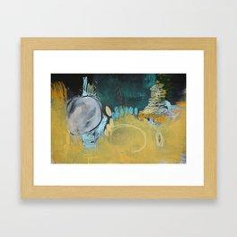 Taupe Art Print  Framed Art Print