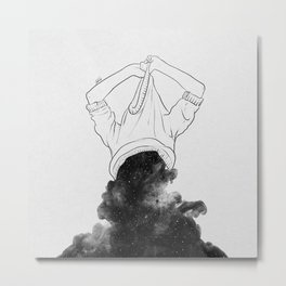 Its better to disappear. Metal Print