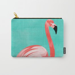 Flamingo Bird Carry-All Pouch