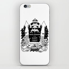 The Royal Kingdom of the Sleepy Forest iPhone Skin