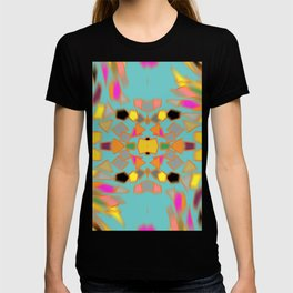 Abstract 70's feel T-shirt