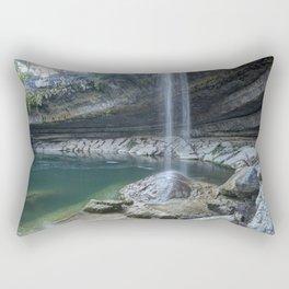 Waterfall in Austin, Texas Rectangular Pillow