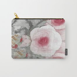Floral Mirage Carry-All Pouch