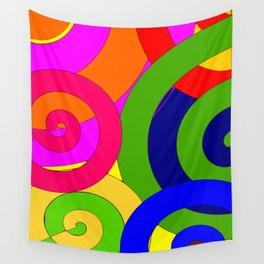 Psyco solid Wall Tapestry
