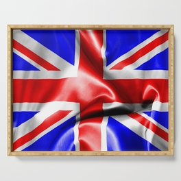 Great Britain Flag Serving Tray