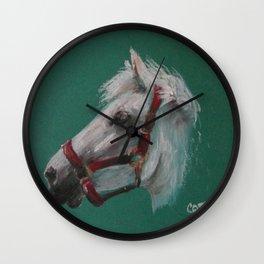 Portrait Of A Friend Wall Clock