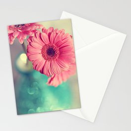 Pink Gerbera Daisy Stationery Cards