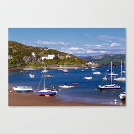 Barmouth Harbour Canvas Print