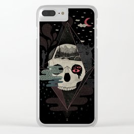 Happy Riddle Clear iPhone Case