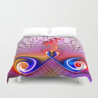 dragon Duvet Covers featuring Dragon by haroulita