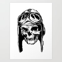 kindle Art Prints featuring 102 by ALLSKULL.NET