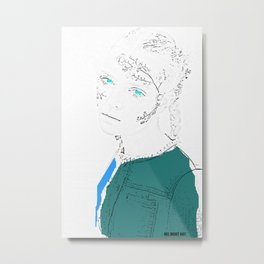 Woman N35 Metal Print