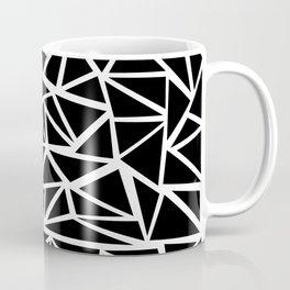 Mozaic Triangle Black Coffee Mug