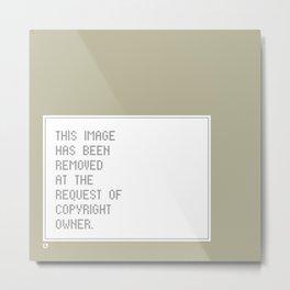 © Control v1.2 Metal Print