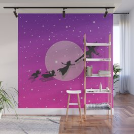 Peter Pan Magical Night Wall Mural