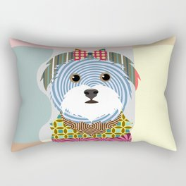 Maltese Rectangular Pillow