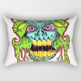 Gambled Posession Rectangular Pillow