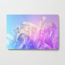 Shade & Palmtree Metal Print