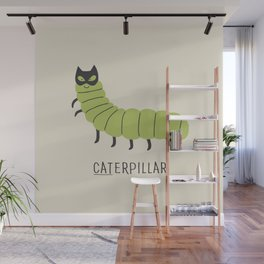 caterpillar Wall Mural
