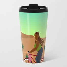 Bikes, Buses, Subways Travel Mug
