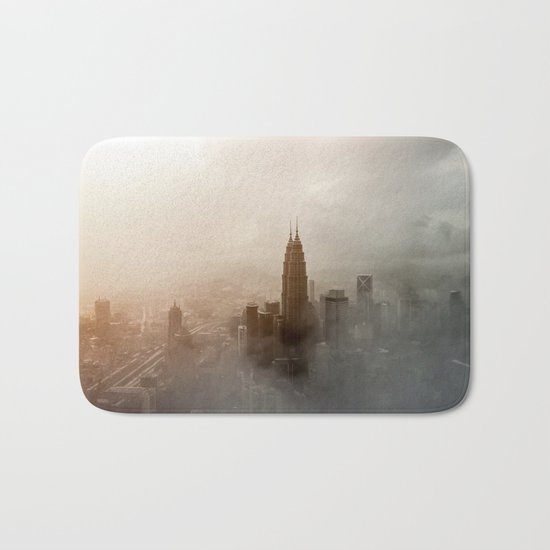Foggy City Bath Mat
