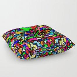 Shapes, Colors, & Basic Geometrics Floor Pillow