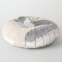 Cat Som Floor Pillow