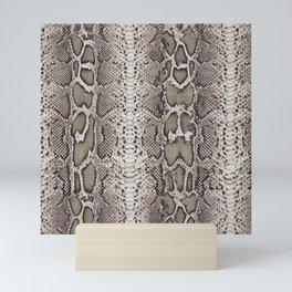 SnakeSkin Print Mini Art Print