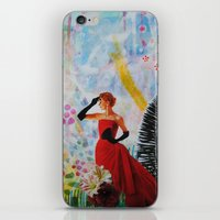 vogue iPhone & iPod Skins featuring Vogue by John Turck