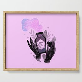 """""""Love is Love Potion"""" inspired by The L Word Serving Tray"""