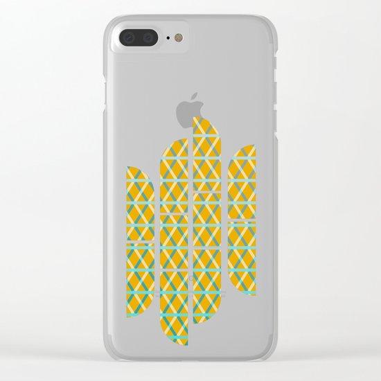 Overlap #6 Clear iPhone Case