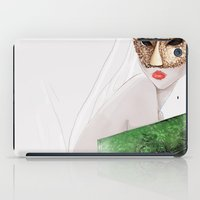jane eyre iPad Cases featuring Jane  by OLLIE HARPER